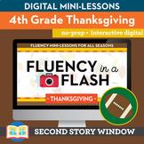 Thanksgiving Fluency in a Flash 4th Grade • Digital Fluenc