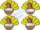 Thanksgiving Rhythm Fly Swatter Card Game