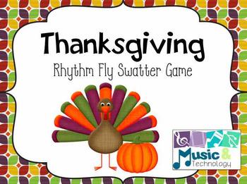Thanksgiving Rhythm Fly Swatter Game