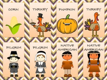 Attentive Turkeys-Thanksgiving Following Directions Game-Full Version