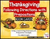Thanksgiving Following Directions with Prepositions BOOM C