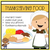 Thanksgiving Food Emergent Reader and Fun!
