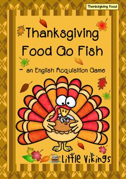 Thanksgiving Food Go Fish
