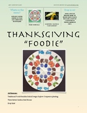"Thanksgiving ""Foodie Fun""- Native American Art"
