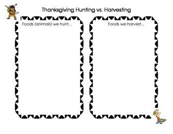 Thanksgiving Foods: Harvest vs. Hunt