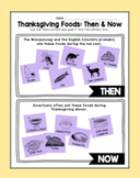 Thanksgiving Foods: Then and Now