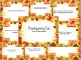 Thanksgiving Activity- 4 corners