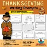 Thanksgiving Writing Prompts   [Seasonal Reading-Writing]