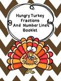 Thanksgiving Math Fraction Booklet