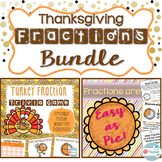 Thanksgiving Fractions Bundle. Thanksgiving Fraction Game