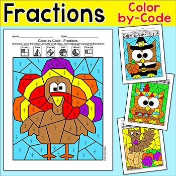 Fraction Turkeys Teaching Resources | Teachers Pay Teachers