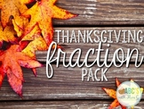 Thanksgiving Fraction Pack