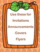 Thanksgiving Frames Clipart