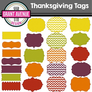Thanksgiving Frames & Tags