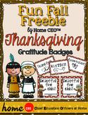 Thanksgiving Gratitude - Free Activity for Preschool, PreK or Homeschool