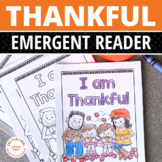 Thanksgiving Free Emergent Reader