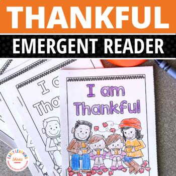 Thanksgiving Free Emergent Reader