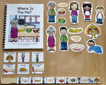 "Thanksgiving Adapted Book:  ""Where Is The Pie?"""