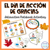 El Día de Acción de Gracias / Thanksgiving Spanish Interac