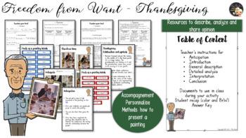 Thanksgiving Mini Lesson