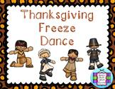 Thanksgiving Freeze Dance Movement Exploration