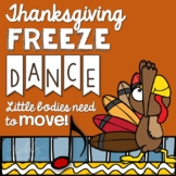 Thanksgiving Freeze Dance {Brain Break/ Movement Exploration}