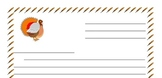 Thanksgiving Friendly Letter Template