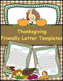 Thanksgiving Friendly Letter Templates