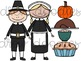 Thanksgiving Friends Digital Clip Art Set