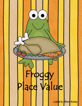 Thanksgiving Froggy Math Centers (8 Centers!!)