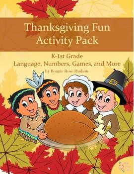Thanksgiving Fun Activity Pack