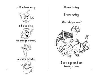 Thanksgiving Fun Book - Brown Turkey, Brown Turkey
