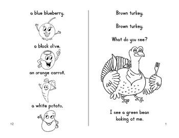 Thanksgiving Fun Book - Brown Turkey, Brown Turkey