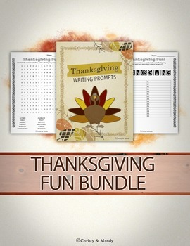 Thanksgiving Fun! Bundle