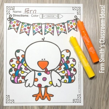 Thanksgiving Coloring Pages - 48 Pages of Thanksgiving Coloring Fun
