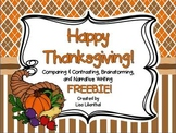 Thanksgiving Fun ~ Freebie!