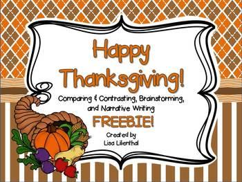 Thanksgiving Fun ~ Freebie!