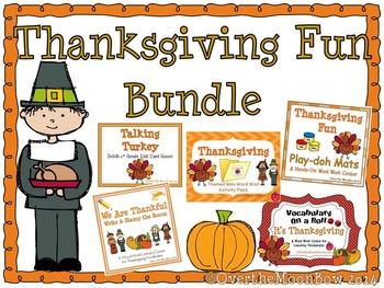 Thanksgiving Fun Holiday Bundle