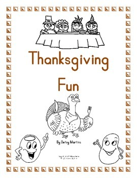 Thanksgiving Math Fun Packet