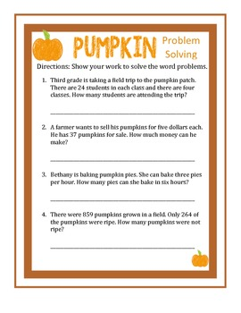 Thanksgiving Fun Math and Writing Activities