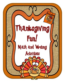 Thanksgiving Fun Math and Writing Activities