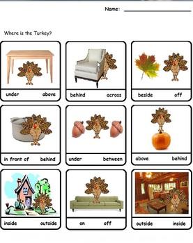 Thanksgiving Fun Morning Worksheets