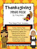 Thanksgiving Fun Pack: Literacy Games, Glyphs, and More