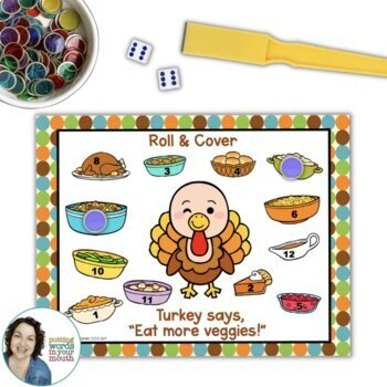 Thanksgiving Fun Pack {for speech/language therapy or classroom fun!}