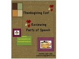 Thanksgiving Fun Parts of Speech