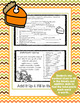 Thanksgiving Fun With Words Activity Flip Book