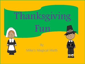 Thanksgiving Fun for All Subjects and Levels