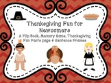Thanksgiving Fun for Newcomers