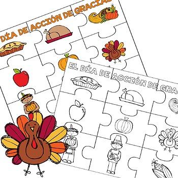 El Día de Acción de Gracias / Thanksgiving Fun in Spanish