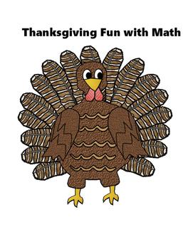 Thanksgiving Fun with Math ( Eureka aka Engage New York)
